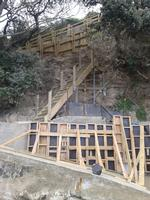 Private Beach Access And Seawall Strengthening