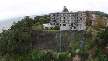 Cliff Stabiliation Below Large Appartment Building 3