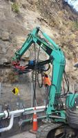 Drilling Of Rock Bolts 2