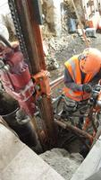 Drilling Of Micropiles 2