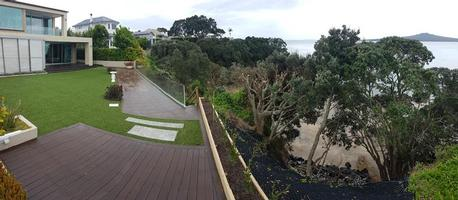 Completed Clifftop Slip Repair & Landscaping