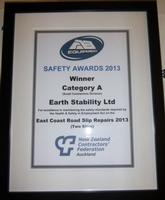 2013 AB Equipment Safety Award
